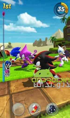 Sonic Forces: Speed Battle - بازی نیروی سونیک :نبرد سرعتی
