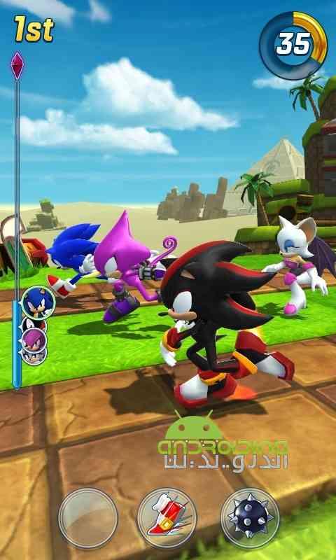 دانلود Sonic Forces: Speed Battle 1.2.1 بازی نیروی سونیک :نبرد سرعتی اندروید 2
