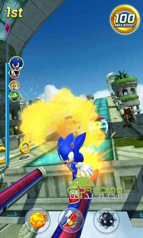 دانلود Sonic Forces: Speed Battle 1.2.1 بازی نیروی سونیک :نبرد سرعتی اندروید 3