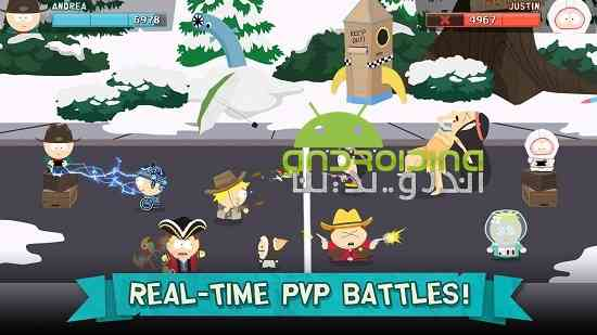 دانلود South Park: Phone Destroyer 2.0.2 بازی جنوب پارک: تلفن ویرانگر اندروید 3