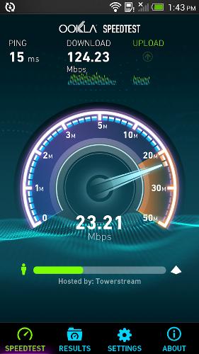 Speedtest.net | برای تعیین سرعت اینترنت شما