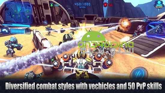 دانلود Star Warfare2:Payback 1.24.00 بازی جنگ ستارگان 2: بازپرداخت اندروید 4