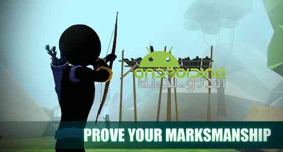 Stickman Archery 2: Bow Hunter - بازی اکشن استیکمن کماندار 2: شکارچی