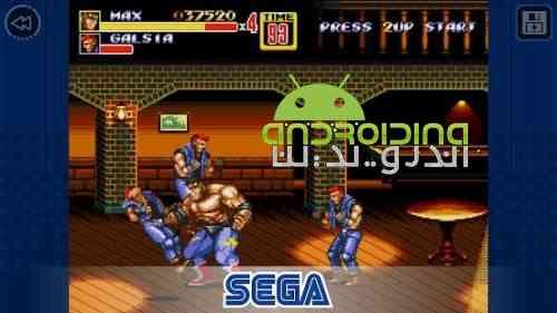 Streets of Rage 2 Classic - بازی اکشن شورش در شهر 2