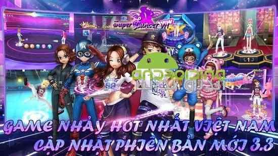 Super Dancer VN - بازی موزیکال رقصنده بسیار خوب