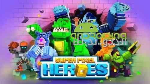 Super Pixel Heroes - بازی سوپر قهرمانان پیکسلی
