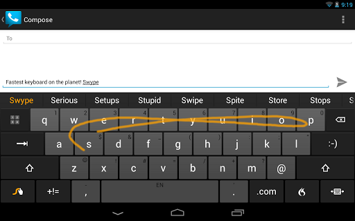 دانلود Swype Keyboard کرک شده