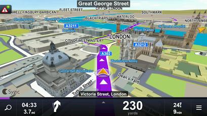دانلود ساجیک Sygic GPS Navigation 17.0.6 پرطرفدارترین مسیریاب آفلاین اندروید 3