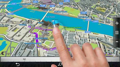 دانلود ساجیک Sygic GPS Navigation 17.0.6 پرطرفدارترین مسیریاب آفلاین اندروید 2
