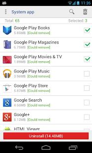 دانلود System App Remover Pro 3.3.1005 حذف برنامه ها و بازی ها