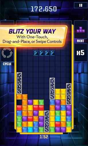 TETRIS Blitz - بازی زیبای تتریس اندروید