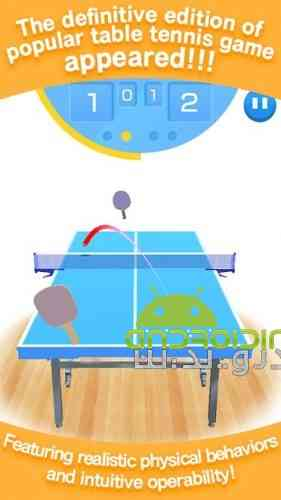 Table Tennis 3D Virtual World Tour Ping Pong Pro - بازی ورزشی شبیه ساز تنیس