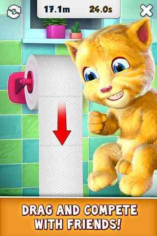 گربه ای سرگرم کننده Talking Ginger v1.4 1