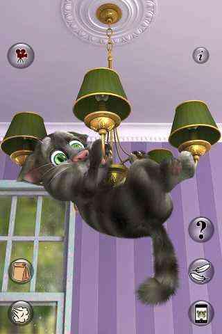بازی گربه سخنگو با مزه اندروید Talking Tom Cat 2 FULL v2.0.1 1