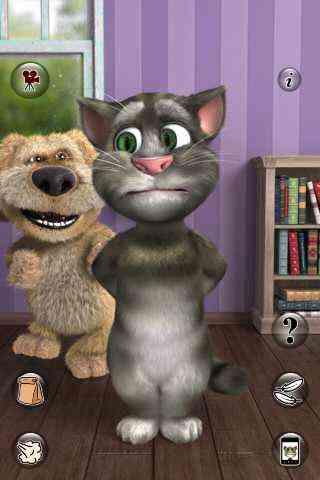 بازی گربه سخنگو با مزه اندروید Talking Tom Cat 2 FULL v2.0.1 2