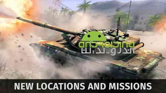 Tank Shooting Attack 2 - بازی حمله تانک تیرانداز 2