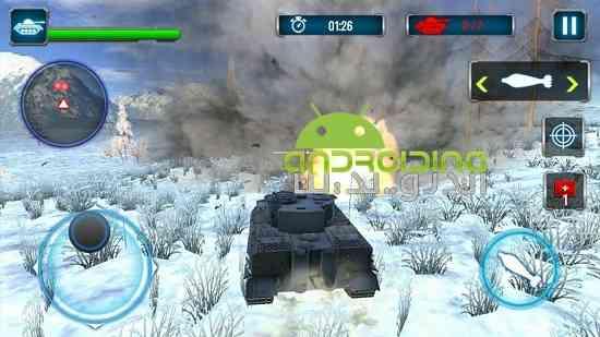Tank Strike 3D - بازی اکشن برخورد تانک ها