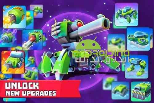 Tanks A Lot! – Realtime Multiplayer Battle Arena - بازی تانک های بسیار - میدان جنگ چند نفره