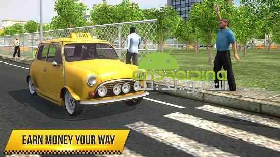 دانلود Taxi Simulator 2018 بازی شبیه ساز تاکسی 2018 اندروید 1