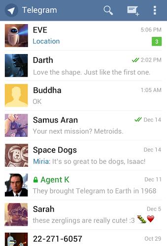 Telegram | مسنجر تلگرام اندروید
