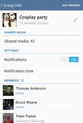 دانلود تلگرام Telegram 4.1.0 اخرین نسخه پیام رسان تلگرام اندروید 2