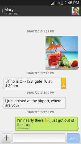 Textra SMS   مدیریت و ارسال اس ام اس