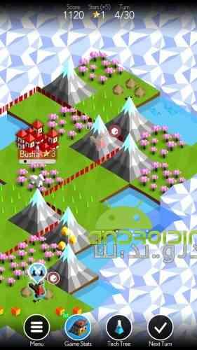 The Battle of Polytopia - بازی استراتژی نبرد پولیتوپیا