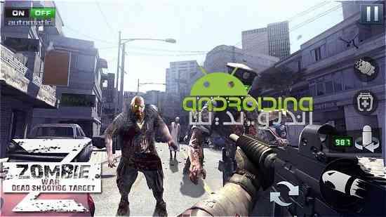 The Final Battleground : Dead Zombie Battle - بازی میدان نبرد نهایی: نبرد زامبی مرده