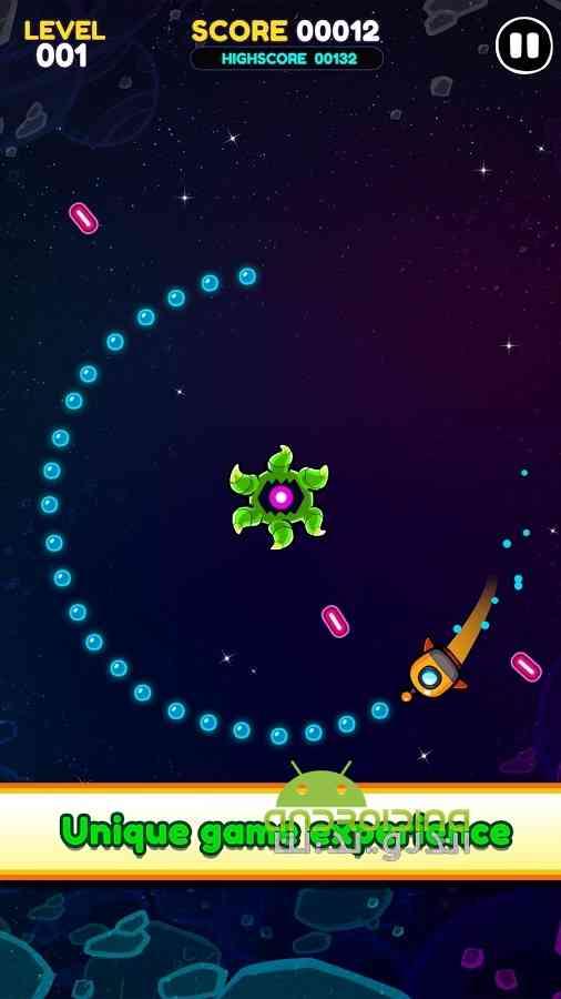 دانلود The Orbit Race 1.5 بازی سرگرم کننده مسابقه دور زدن اندروید 1