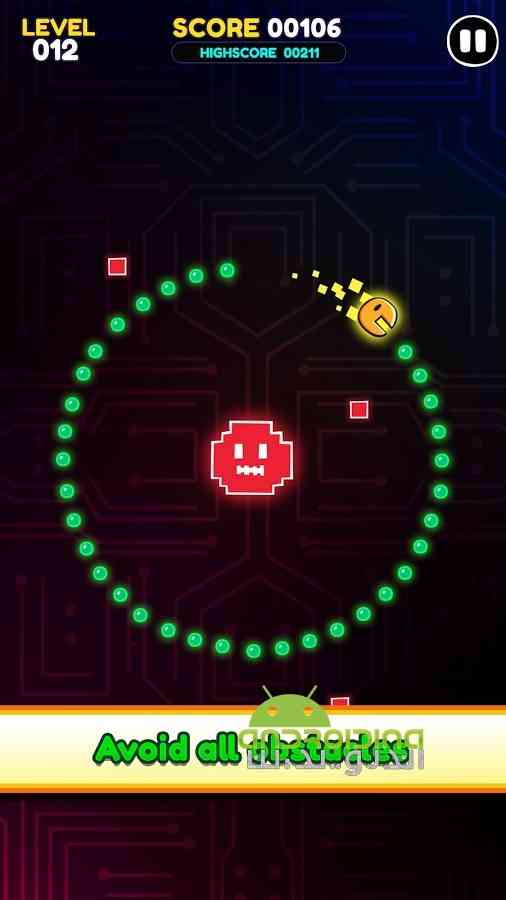 دانلود The Orbit Race 1.5 بازی سرگرم کننده مسابقه دور زدن اندروید 3