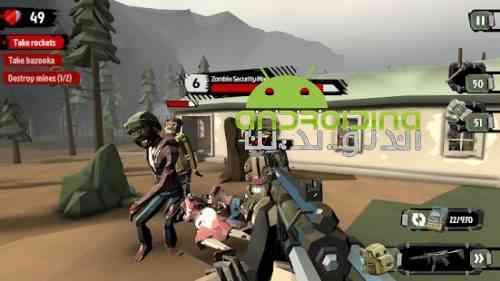 The Walking Zombie 2: Zombie shooter - بازی پیاده روی زامبی 2 - تیرانداز زامبی