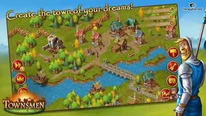 Townsmen Premium - بازی استراتژیکی و شهرسازی