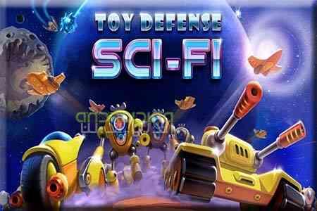 Toy Defense 4 Sci-Fi Strategy - بازی دفاع اسباب بازی های 4 : استراتژی عملی تخیلی