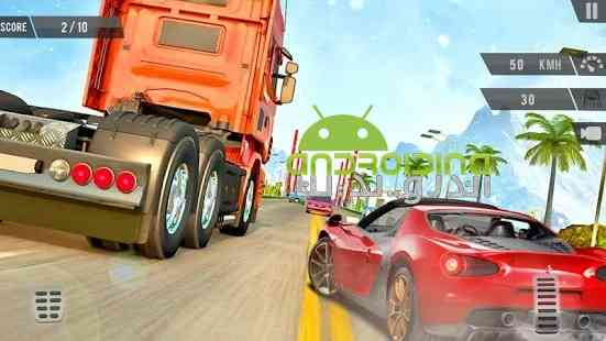 Traffic Racer Highway Car Driving Racing Game - بازی مسابقه در ترافیک