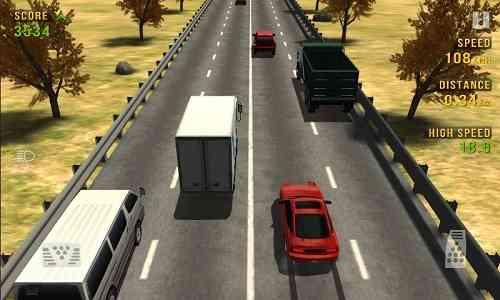 Traffic Racer | بازی حرکت در میان ترافیک بزرگراه
