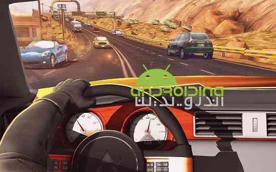 Traffic Xtreme 3D: Fast Car Racing & Highway Speed - بازی مسابقه ای ترافیک سنگین:رانندگی سریع