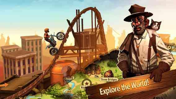 Trial Frontier | بازی موتور سواری نهایت کوشش