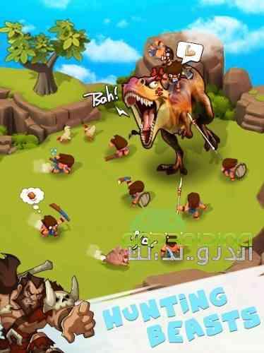Tribes Age: Rise of Caveman - بازی عصر قبایل: ظهور غارنشین