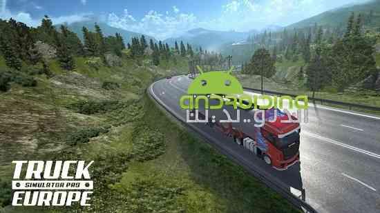 Truck Simulator PRO Europe - بازی شبیه ساز تریلی اروپا