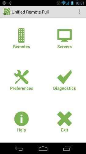 Unified Remote | برنامه کنترل کامل موس،کیبورد،اکسپلورر،مدیا و ... کامپیوتر از طریق دیوایس اندروید