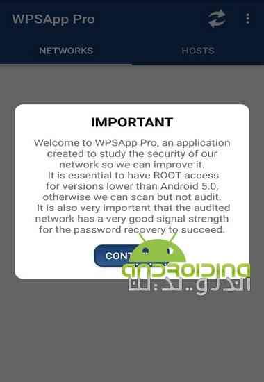 دانلود WPSApp Pro 1 6 7 نرم افزار بررسی امنیت شبکه برای اندروید