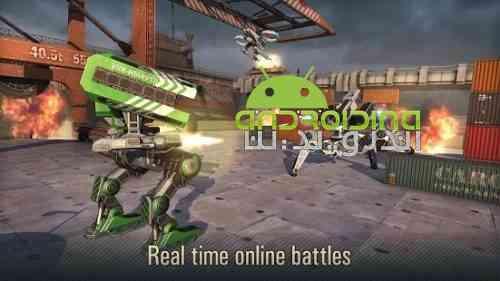 WWR: World of Warfare Robots - بازی دنیای جنگ های رباتیک
