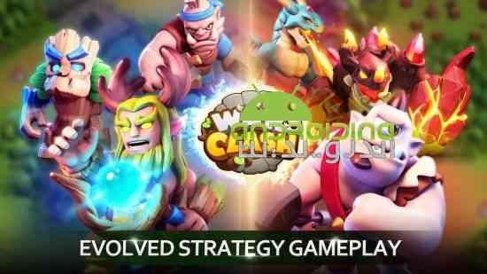 War Clash - بازی استراتژی جنگ پر برخورد