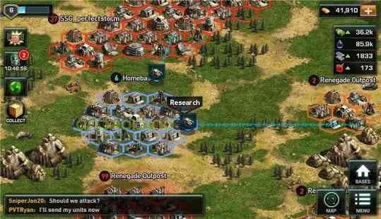 دانلود War of Nations PvP Domination 4.10.1 بازی انلاین جنگ ملت ها 2