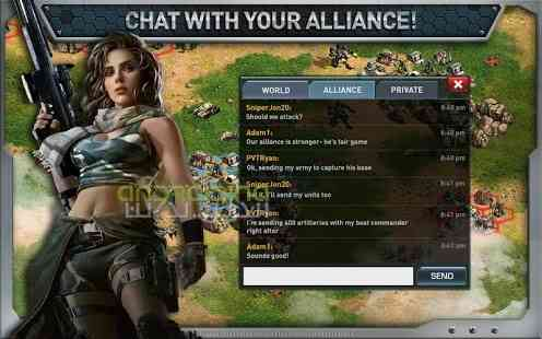 War of Nations PvP Domination – بازی جنگ ملت ها