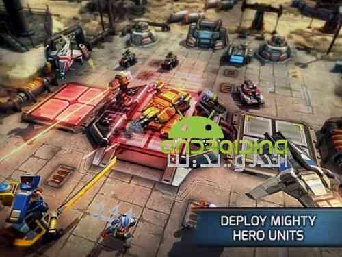 Warzone: Clash of Generals - بازی استراتژیک منطقه جنگی: برخورد ژنرال ها