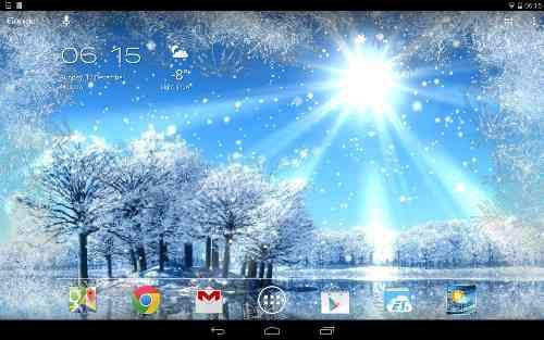 دانلود Weather Screen v3.2.0 تغییر پس زمینه با تغییر آب و هوا 1