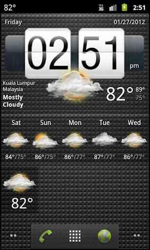 دانلود Weather Services PRO 4 پیش بینی آب و هوا اندروید 1