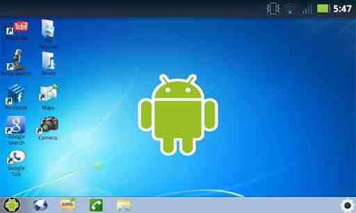 Windows 7 for Android v1.1 شبیه ساز محیط ویندوز 7 2