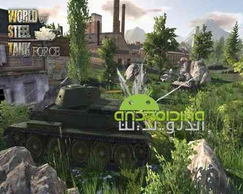 دانلود World Of Steel Tank Force 1.0.5 بازی اکشن قدرت تانک ها برای اندروید 2